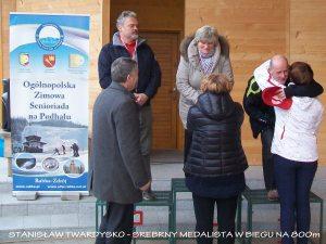 STANISŁAW TWARDYSKO - SREBRNY MEDALISTA W BIEGU NA 800m